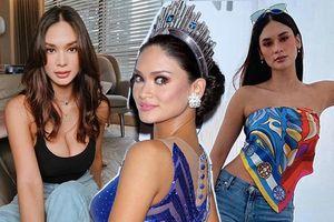 Hậu bị fan Việt 'nổi đóa', Miss Universe 2015 lên đồ gợi cảm xuống phố