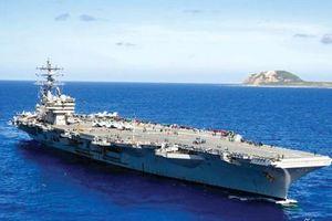 Mỹ điều tàu sân bay duy nhất ở châu Á tới Trung Đông
