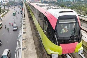 5/10 đoàn tàu của dự án đường sắt đô thị số 3 đã có mặt tại Hà Nội