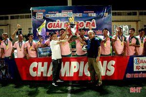 FC Phúc Sport vô địch Giải Bóng đá League U40++ Cup Bằng Sport năm 2021