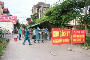 Hà Nội: Huyện Gia Lâm kết thúc cách ly y tế tại 4 thôn của xã Kim Sơn