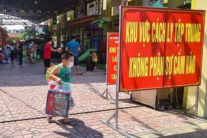 Bắc Giang: 24 bé của Trường Mầm non Lê Lợi hết cách ly, được trở về nhà