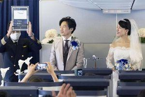 Chi tiền tổ chức đám cưới trên máy bay ở Nhật Bản
