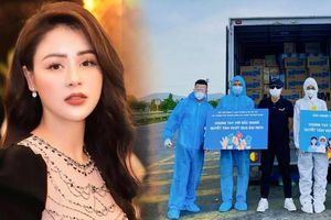 Lương Thu Trang cùng đồng nghiệp đi cứu trợ Bắc Ninh – Bắc Giang