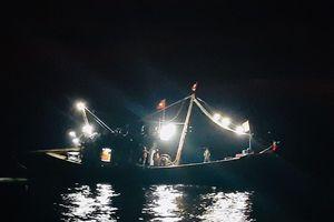 Nghệ An: Kiểm tra xử phạt thêm 4 tàu cá đánh bắt sai quy định