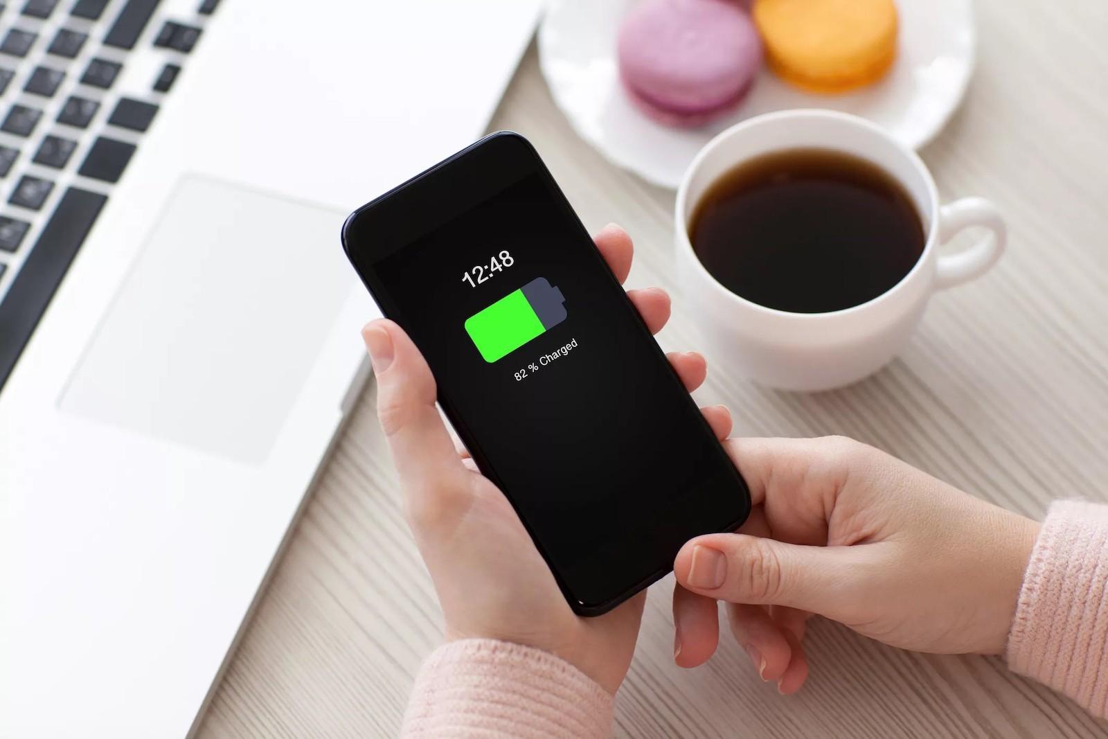 Điện thoại thông minh sắp sạc được qua không khí?