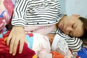 Nữ công nhân người Tày sinh con trong khu giãn cách xã hội