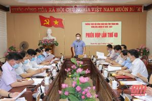Kỳ họp thứ nhất HĐND tỉnh Thanh Hóa khóa XVIII, nhiệm kỳ 2021-2026 sẽ diễn ra vào cuối tháng 6-2021