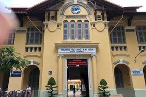 Gần 800 sinh viên sư phạm ĐH Sài Gòn phải thi online để kịp đợt tuyển dụng giáo viên