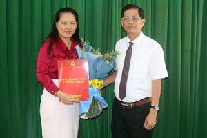 Bà Lê Vinh Liên Trang phụ trách Sở Khoa học và Công nghệ