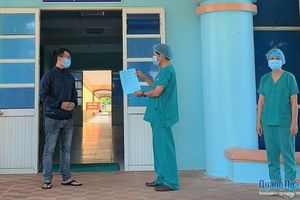 Bệnh nhân Covid-19 duy nhất ở Quảng Ngãi được công bố khỏi bệnh