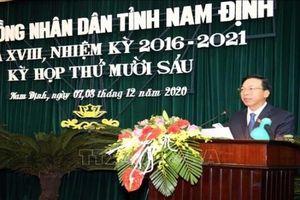 Danh sách 61 người trúng cử đại biểu HĐND tỉnh Nam Định nhiệm kỳ 2021-2026