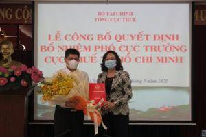 Ông Thái Minh Giao làm Phó Cục trưởng Cục Thuế Tp.HCM