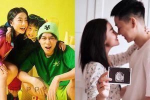 Vợ chồng Ba Duy - Nam Thương báo tin vui đúng ngày 1/6, bé Đậu chính thức lên chức anh rồi