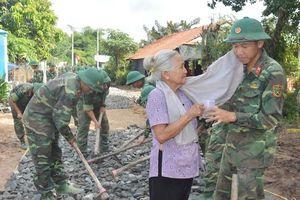 Đảng ủy Sư đoàn 9: Điểm sáng trong chỉ đạo vận động nhân dân xây dựng Tổ quốc