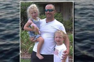 Bé trai bảy tuổi bơi cả tiếng đồng hồ đi tìm người cứu bố và em gái