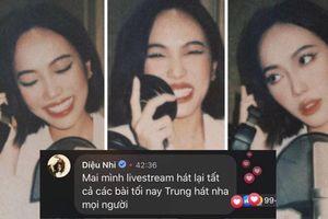 Diệu Nhi 'chơi lớn' khi tuyên bố hát lại toàn bộ ca khúc trong đêm nhạc của Quang Trung