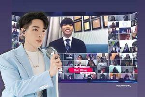 Đức Phúc tự tin khoe giọng hát live, cover 'On The Ground' của Rosé trước hàng ngàn fan Hàn
