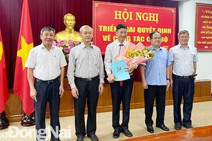 Đồng chí Từ Thiên Tú được bổ nhiệm làm Phó chánh Văn phòng Tỉnh ủy