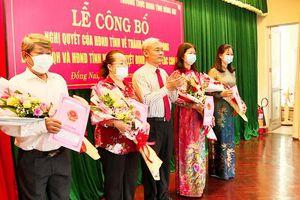 Bà Nguyễn Thị Kim Chung được bổ nhiệm làm Chánh văn phòng Đoàn đại biểu Quốc hội và HĐND tỉnh