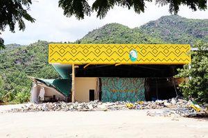 Các nhà xưởng xây trái phép ở xã Phước Đồng đều tự nguyện tháo dỡ