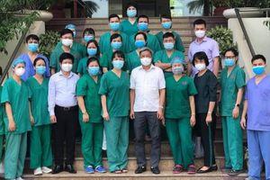 Nữ thủ lĩnh đội chi viện Quảng Ninh: 'Nắng nóng Bắc Giang không làm khó được tinh thần chúng tôi'
