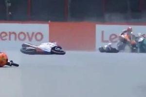 Clip cận cảnh tai nạn khiến tay đua 19 tuổi tử vong ở chẳng Italian Grand Prix