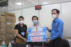 Đà Nẵng trao 1.000 suất quà cho công nhân khó khăn do COVID-19