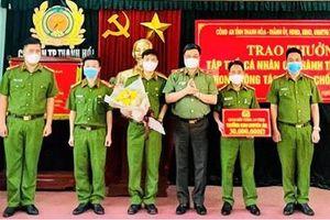 Công an TP Thanh Hóa đạt nhiều thành tích xuất sắc trong tấn công trấn áp tội phạm