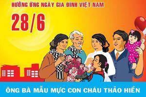 'Ngày hội gia đình' sẽ diễn ra tại Làng Văn hóa-Du lịch các dân tộc Việt Nam