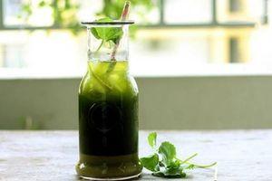 Nước rau má đậu xanh có tác dụng gì?
