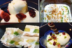 Tự tay làm 4 loại kem mát lạnh, đặc biệt thơm ngon bổ dưỡng