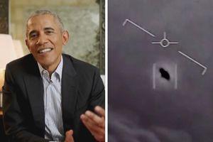 Cựu Tổng thống Obama lên tiếng sau vụ 14 UFO 'quấy rối' chiến hạm Mỹ