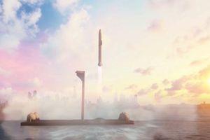 SpaceX đang xây dựng sân bay vũ trụ trên biển