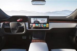 Tesla Model S và Model X sớm sẽ được trang bị khả năng chơi game console