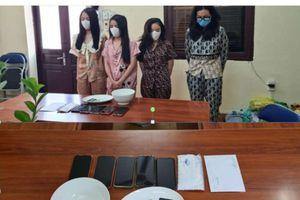 Bắt giữ 4 đối tượng nữ tổ chức 'tiệc' ma túy tại Hải Phòng