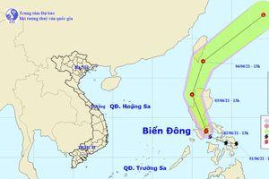 Bão Choi-wan giật cấp 10 xuất hiện gần Biển Đông