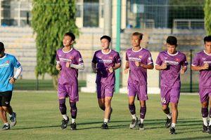 Đội tuyển U22 Việt Nam 'luyện công' dưới cái nắng 40 độ C