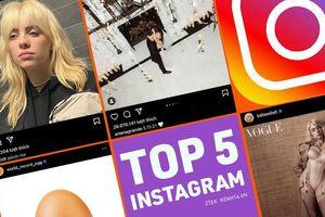Top 5 bức ảnh có lượng like khủng nhất Instagram, top 1 chắc chắn sẽ khiến bạn bất ngờ