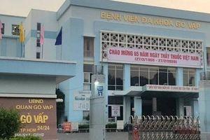 TP Hồ Chí Minh: Tạm ngưng hoạt động Bệnh viện quận Gò Vấp vì liên quan Covid-19