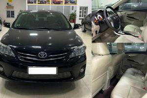 Toyota Corolla Altis 2013, 'thét giá' hơn 500 triệu ở Hải Dương