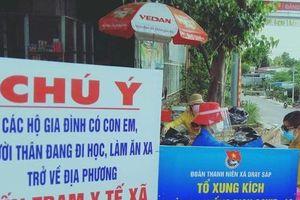 Tuổi trẻ Đắk Lắk hỗ trợ chốt kiểm soát phòng chống dịch