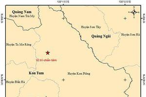 Kon Tum: Động đất tại Kon Plông ở mức yếu, không gây rủi ro thiên tai
