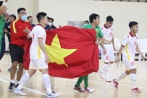 Đội tuyển futsal Việt Nam dự World Cup: Lần thứ 2 ra biển lớn