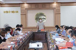 Triệu Sơn phấn đấu trở thành huyện đạt chuẩn nông thôn mới vào năm 2022; đến năm 2025 trong nhóm những huyện dẫn đầu của tỉnh