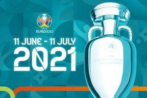 Lịch thi đấu bóng đá EURO 2021 mới nhất