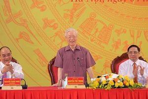 Tổng bí thư, Chủ tịch nước, Thủ tướng tham gia Đảng ủy Công an T.Ư