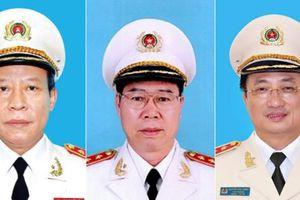 Ba Thứ trưởng Bộ Công an nghỉ hưu theo quy định