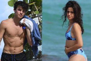 Bạn trai phong độ ngút ngàn, Camila Cabello như bà thím còn lộ bụng mỡ khi mặc bikini