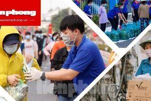 Tỉnh đoàn Bình Dương, Bình Phước hỗ trợ tuyến đầu phòng dịch